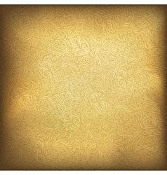 Golden vintage background vector