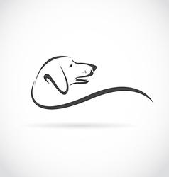 image an dog dachshund vector image