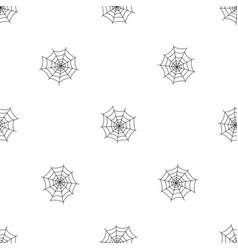 Insect cobweb pattern seamless vector
