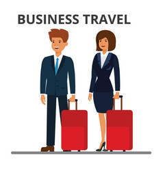 International business travel businessman and vector