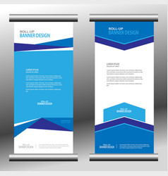 roll up banner 033 vector image