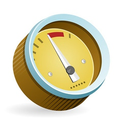 Speedometer Icon vector