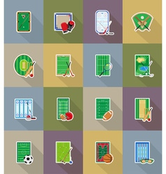 Sport flat icons 78 vector