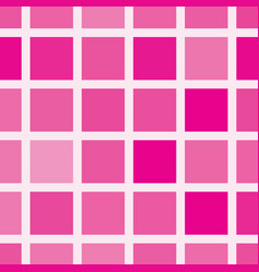 squares in shades of pink seamless pattern vector image