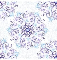 Gentle seamless pattern vector image vector image