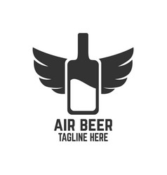 Air beer logo vector