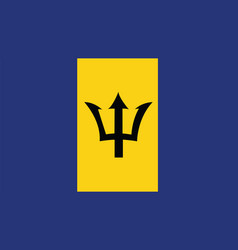 Barbados flag for independence day and vector