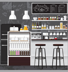 Best coffee shop vector