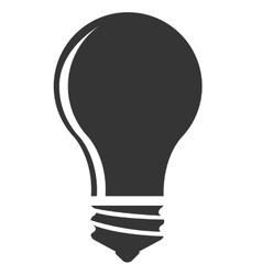 Bulb or big idea isolated icon vector