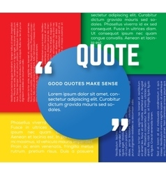 Circle Motivation Quote Template Color vector