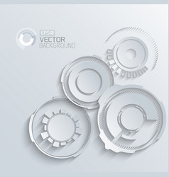 Engineering elements grey background vector