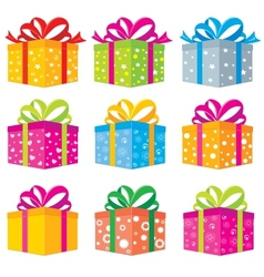 Gifts box vector