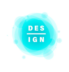 graphic banners design vector image