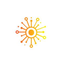 O share letter logo icon design vector