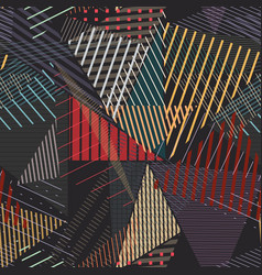 Repetitive abstract vector
