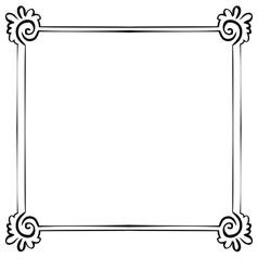 frame Element for design vector image vector image