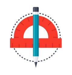 geometry icon vector image
