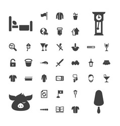 37 collection icons vector