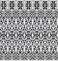 Abstract seamless pattern floral style vector image