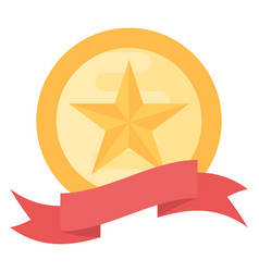 Achievement badge vector