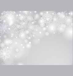 Christmas winter holiday background blur light vector