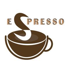 espresso icon vector image