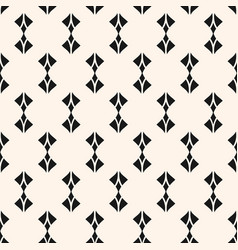 Geometric seamless pattern with curved shapes vector