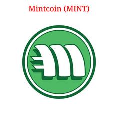 Mintcoin mint logo vector