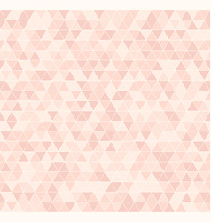 Rose triangle pattern seamless vector