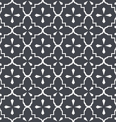 Seamless vintage doily pattern 2 vector image