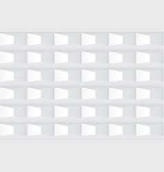white texture seamless tile geometric pattern vector image