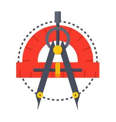 Geometry icon vector