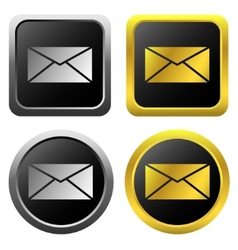 Email message icons vector image