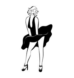 Marilyn monroe vector