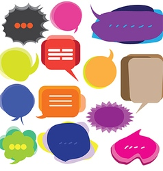 0108 Speech bubbles vector