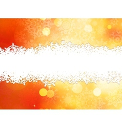 Christmas background with copy space EPS 10 vector image
