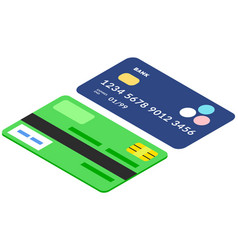 devices for contactless payment online credit and vector image