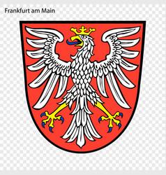 Emblem of frankfurt am main vector