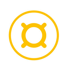 generic currency symbol vector image