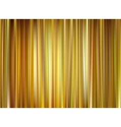 Gold curtain vector