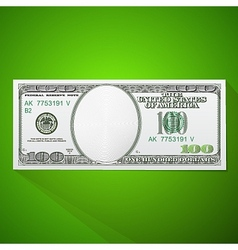 Hundred dollars bill clip-art vector