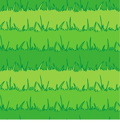 Seamless vegetation background Green grass vector image