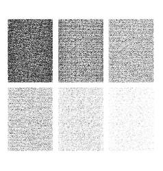 set grunge background vector image
