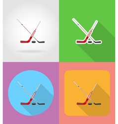 sport flat icons 12 vector image