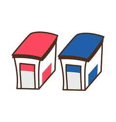 Two building vector