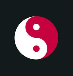 Yin yang simbol vector