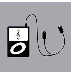 Ipod music vector image