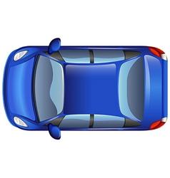 A blue car vector image vector image