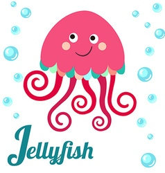 JellyfishL vector image vector image