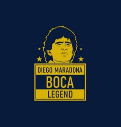 Boca legend vector